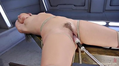 Machine, Sybian, Hairy solo, Fucking machine