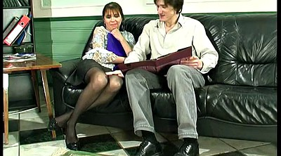 Russian mature, Russian milf, Office anal, Mature russian