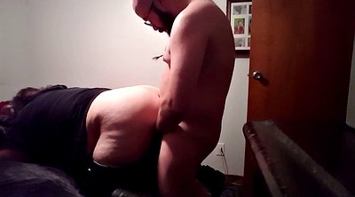 Bbw creampie, Wife anal, Creampied