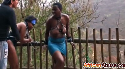 Slave, Busty, African, Tortured