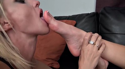 Teen lesbian, Feet worship, Mature feet, Teen feet, Foot worship, Blonde mature