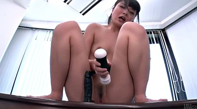 Japanese office, Japanese solo, Masturbation hairy