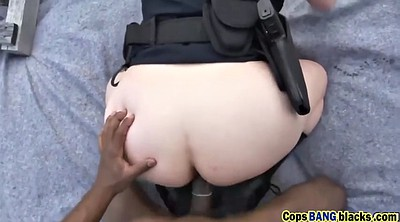 Busty milf, Perverted, Cops, Busty black, Pervert, Interracial threesome
