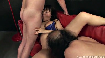 Double, Face fuck, Asian threesome, Before