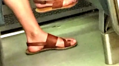 Candid feet, Candid, Train
