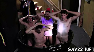 Gay group, Tricked, Public nudity