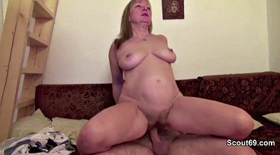 Old, Mom hairy, Young and old, Mom seduce