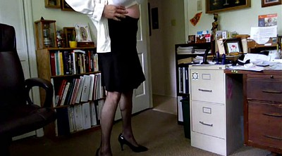 Pervert, Dressing, Dress, Crossdresser solo