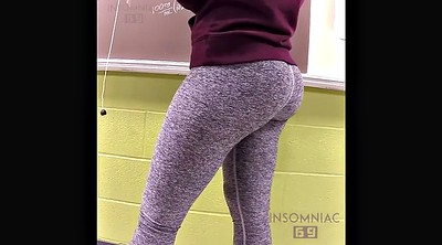 Candid, Teacher milf, Candid ass