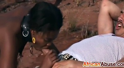 African, Double blowjob