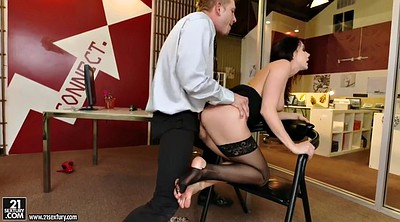 Chanel preston, Secretary, Face sitting, Sit face, Office foot, Milf foot