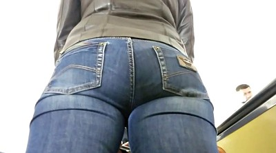 Hidden cam, Tight jeans