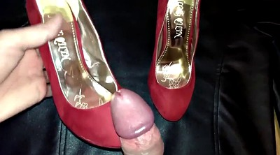 Shoe, Film, Shoe masturbate, Cum shoes, Gay feet, Wife masturbating
