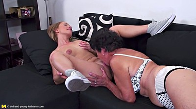 Mature granny, Young and old, Teen lesbian, Old young, Lesbian fuck