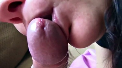 Close up, Homemade blowjob, Mature facials, Homemade pov