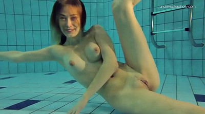 Pool, Hot body, Underwater, Teen girl, Solo hot