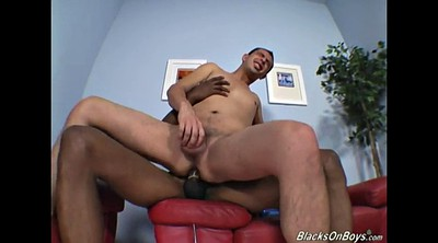 Interracial, Sloppy blowjob