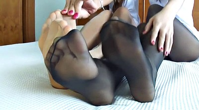 Japanese foot, Japanese pantyhose, Asian foot, Pantyhose foot, Japanese hard