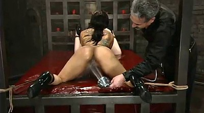 Water, Water bondage, Submissive, Strapon femdom, Submission