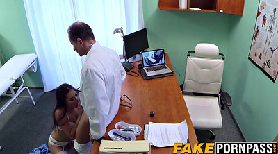 Office, Doctor, Sexy lingerie, Nails