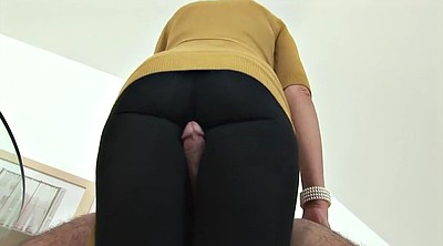 Leggings, Handjob feet