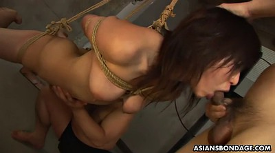 Sperm, Japanese throat, Japanese face, Face fuck, Tied up, Japanese face fuck