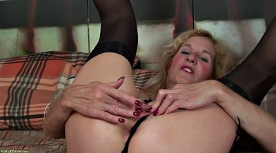 Milf solo fingering, Solo milf, Big woman, Older woman