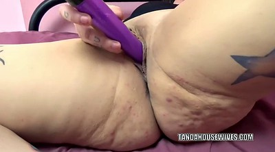 Cougar, Mature dildo, Wife masturbation, Hardcore mature, Plump