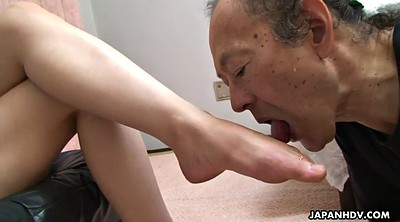Granny, Japanese old man, Japanese granny, Japanese foot, Japanese femdom, Old