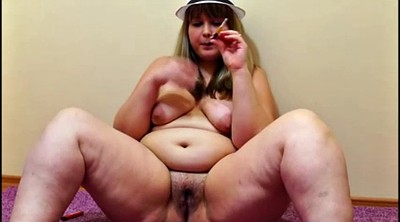 Music, Russian bbw, Smoke