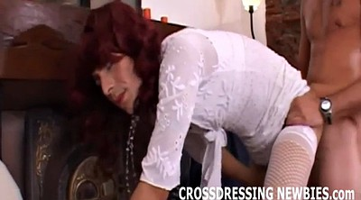 Crossdresser, Crossdressers, Dress fuck
