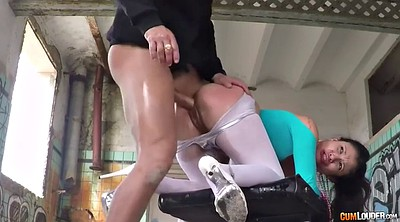 Oil, Pantyhose oil, Outdoors, Big dicks, Rough missionary, High-heeled