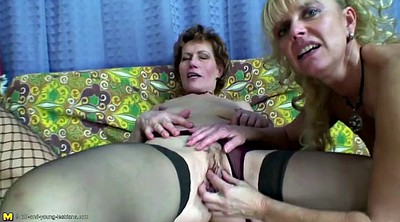 Granny group, Lesbian mature, Mature lesbians, Old and young lesbian, Mom and daughter, Old mom