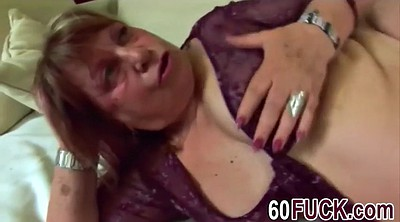 Mature masturbating, Bbw granny