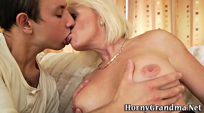 Mature blonde, Granny hd