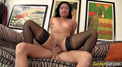 Asian granny, Old woman, Granny licking, Asian boy, Lucky, Asian old