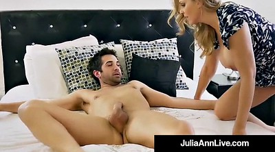 Julia ann, Step mom, Julia, Anne, Mature mom, Blonde mature