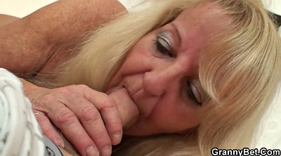 Stocking mature, Blonde mature, Black old