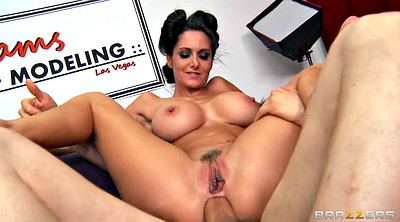 Ava addams, Milf anal, Brunette, Reverse, Reverse cowgirl, Huge cock anal