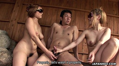 Small penis, Japanese threesome, Asian small