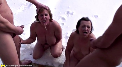 Granny gangbang, Gangbang granny, Young and old, Granny mature