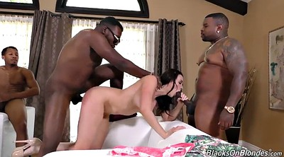 Anal, Spank, Bukkake, Facial, Chanel preston, Interracial creampie
