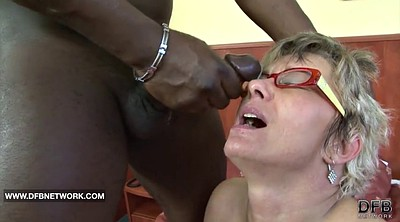 Insert, Insertion, Mature anal interracial, Caught by