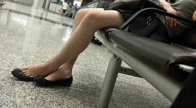 Leg, Asian foot, Candid, Sexy asian, Asian feet, Candid feet