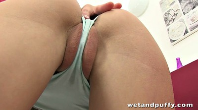 Solo girl, Bed pee, Caress