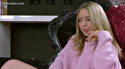 Teen first time, Virgin first time, Russian blonde, First casting