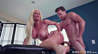 Busty mom, Nicolette shea, Standing, Busty blonde, Blonde mom, Tits mom