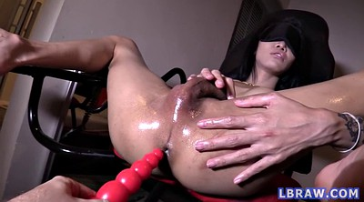 Asian gay, Asian creampie, Blindfolded