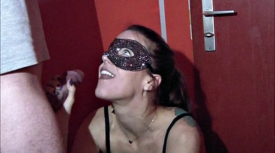 German milf, Glory hole