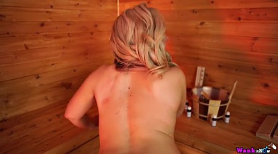 Mom pov, Mom solo, Chubby solo, Big butt, Blonde mom